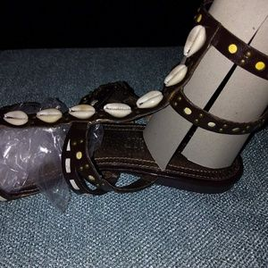 Colin Stuart gladiator sandals